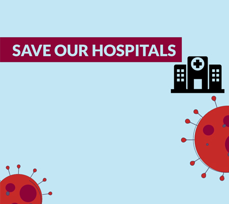 Save our Hospitals - COVID-19 Appeal launched